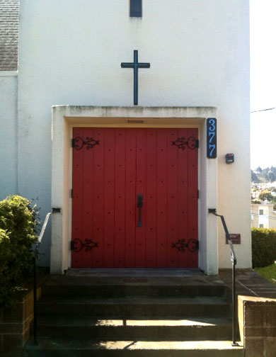 image of the entrance to living stone ministries